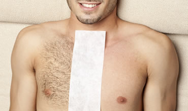 Male chest waxing gold coast